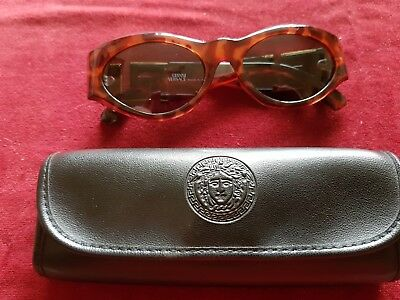 Versace vintage sunglasses with Versace case