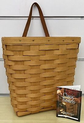 Longaberger Tall Key Basket and Protector 2000