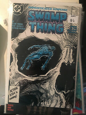 SWAMP THING #56 NM- 1st Print ALAN MOORE Bissette