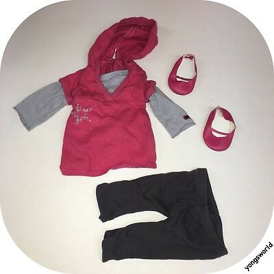 Pleasant Company American Girl Star Hoodie Outfit Pants Shoes Lot