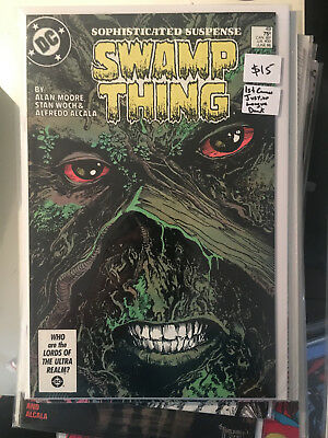 SWAMP THING #49 NM 1st Print ALAN MOORE 1ST CAMEO APP JUSTICE LEAGUE DARK