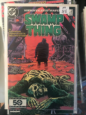 SWAMP THING #68 NM 1st Print ALAN MOORE