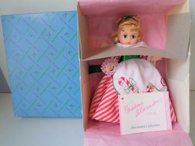 """Madame Alexander Lil Christmas Candy 100348 WENDY 8""""  Holiday Doll Mint in Box"""