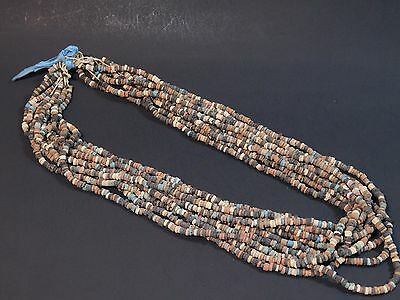 10 ANCIENT EGYPTIAN MUMMY BEADS Strands in Original state