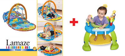 USED EVENFLO SmartStep ExerSaucer Jumperoo Musical Activity Baby Gym Toy