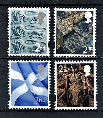 2003 COUNTRY DEFINITIVES 2nd SINGLES SET 4v UNMOUNTED MINT
