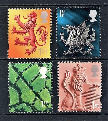 2001 COUNTRY DEFINITIVES 1st SINGLES SET 4v UNMOUNTED MINT