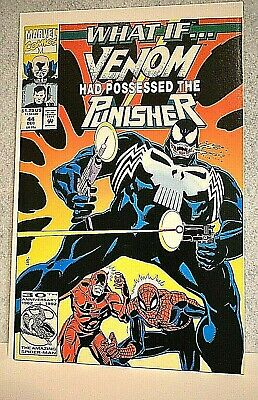 Marvel #44 What If Venom had Possessed the Punisher -Dec 1992 by Kurt Busiek