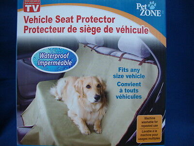 Waterproof Vehicle Seat Protector Protects from pet hair and accidents Pet Zone