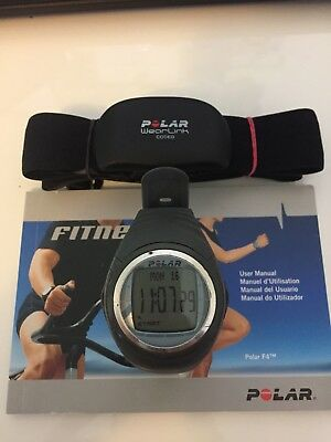 Polar F4 Grey Heart Rate Monitor Fitness Watch