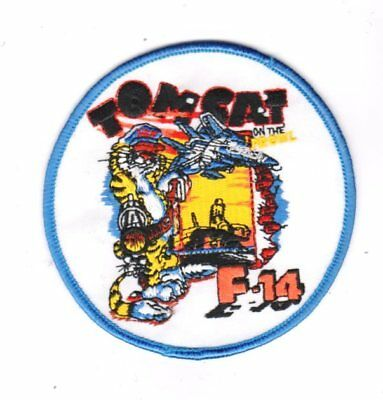 Usn Patch Navy F – 14 Tomcat On The Prowl