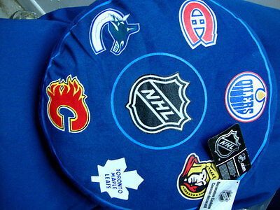 Brand new NHL licensed product decorative Hockey logos pillow cushion 6 Can team