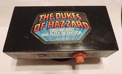 1980 Dukes Of Hazard Dashboard And Fuzz Detector (only) from Estate