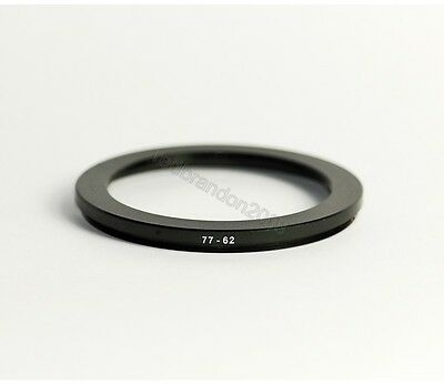 77mm to 62mm Step Down Adapter Ring Converter Holder for Camera UV Filter Lens
