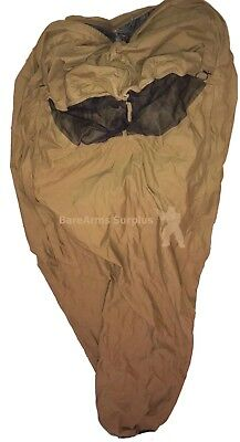 USMC 3 Season Sleep System Improved Bivy Cover ONE SIZE Coyote w/ hole in mesh