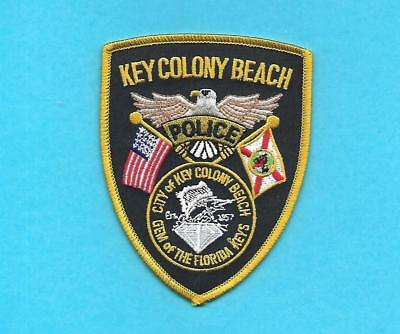 Key Colony Beach Police-Fla- Gem Of The Florida Keys- Sailfish-Nice