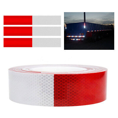 """2""""x150' Dot-C2 Reflective Conspicuity Tape Safety Trailer Truck 6""""Red/6"""" White *"""