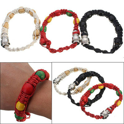 3 Colors  Portable Metal Bracelet Smoke Smoking Pipe Jamaica Rasta Weed Pipe