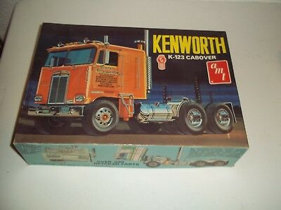 Vintage Amt Kenworth K-123 Cabover Tractor 1/25 With Box T520