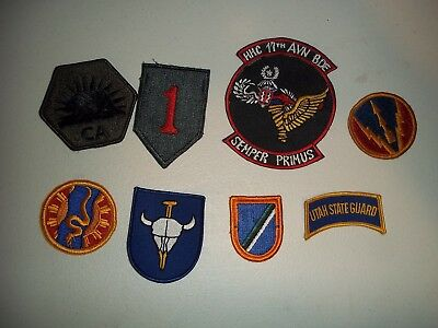 Wwi Wwii Korean War Vietnam Us Army Patch Lot #53