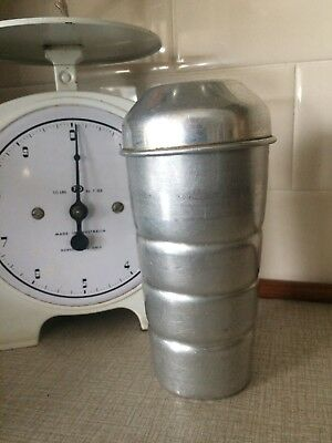 Vintage Retro Cocktail Mixer Shaker Aluminium