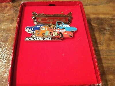disney Pins Wdw cars mater and gang jumbo pin le 750 retired