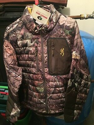 Browning Camouflage Down Jacket- Men's Medium