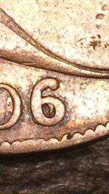 1806/5 Draped Bust Half Dollar.  RARE Variety.  Strong Overdate Large Die Cracks