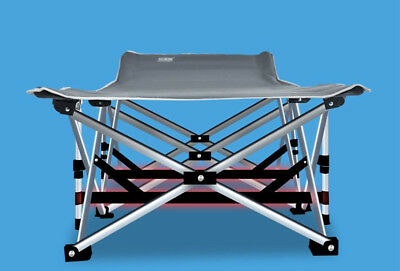Foldable Camping Cot Gear Camper Tent Outdoor Portable Folding Sleeping Bed +Bag