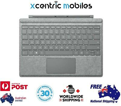 Microsoft Surface Pro 4 Type Cover - 1725 Alcantara Signature - Grey - AUS Stock
