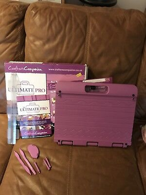 crafters companion Ultimate Pro Tool For Card making Now Making Embossing & Scra