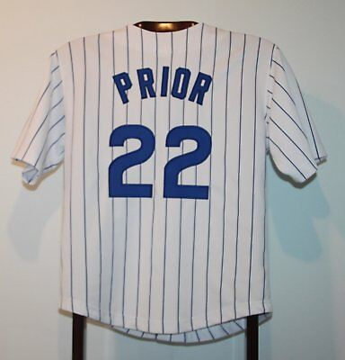 Maillot Trikot Jersey Mlb Baseball Chicago Cubs Mark Prior XS