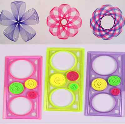 1x Spirograph Geometric Ruler Drafting Tools Stationery Drawing Toys