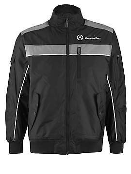 Mercedes: Men's  Drivers Bomber Jacket - Anthracite -X  LARGE - NEW!