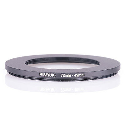 72-49 MM 72 MM- 49 MM 72 to 49 Step Down Ring Filter Adapter
