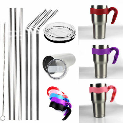 Tumbler Handle For 20/30 Oz YETI&RTIC Ozark Trail Rtic Cup Lid Cup Handle Straws