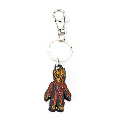 Marvel Guardians of the Galaxy Baby Groot Stainless Steel Keychain