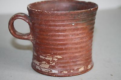 RARE  ANCIENT GREEK HELLENISTIC POTTERY OLPE MUG 3rd CENTURY BC