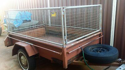 box trailer 7 x 4 with sides