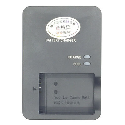NB-13L Battery Charger CB-2LHT for Canon PowerShot G5X G7X G9X SX720 Camera