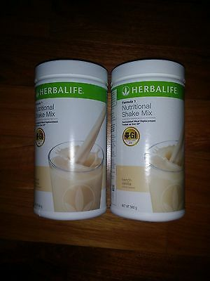 Herbalife Formula 1 F1 x 2 YOU CHOOSE FLAVOURS  BB: From 4/18 onwards