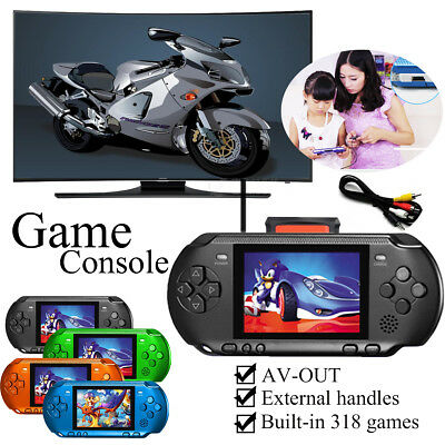 3.2'' Portable Handheld Game Console Player 8 Bit AV-out External Handles Gift