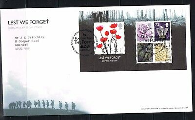 royal mail 2006 lest we forget FDC