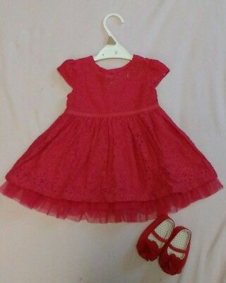 girls christmas party dress 6-9 months