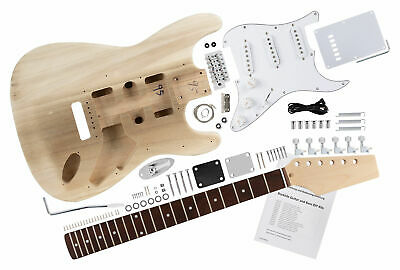 Do it yourself electric guitar kit st style home made diy complete do it yourself electric guitar kit st style home made diy complete set hand made solutioingenieria Gallery