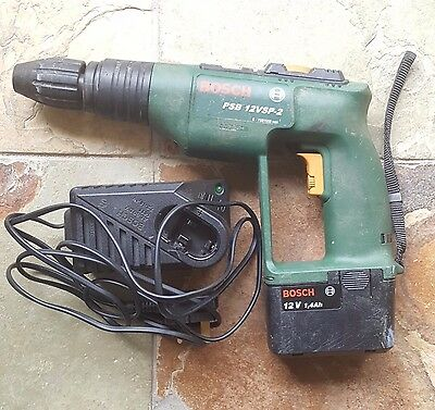 Bosch 12V Hammer Drill Psb12Vsp-2 Power Tool Diy Used Excellent Cordless Great!