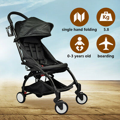 EASY Folding Compact Lightweight Baby Stroller Pram Pushchair Travel Carry on