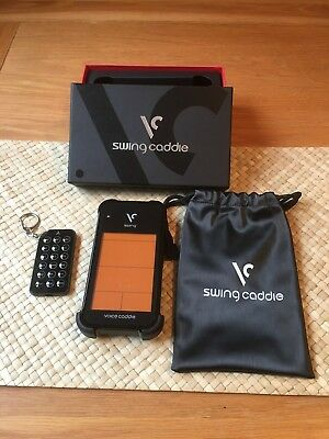 Voice Swing Caddie SC100 Portable Golf Launch Monitor Training Aid