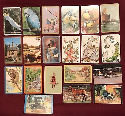 20 Mixed Collectable Swap Cards Playing Cards #31