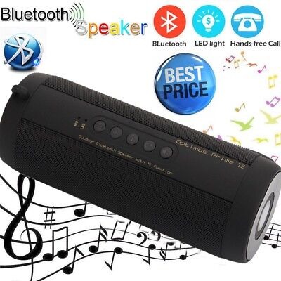 Wireless Bluetooth Lautsprecher Speaker Sound Box Micro SD USB MP3 Musik Player